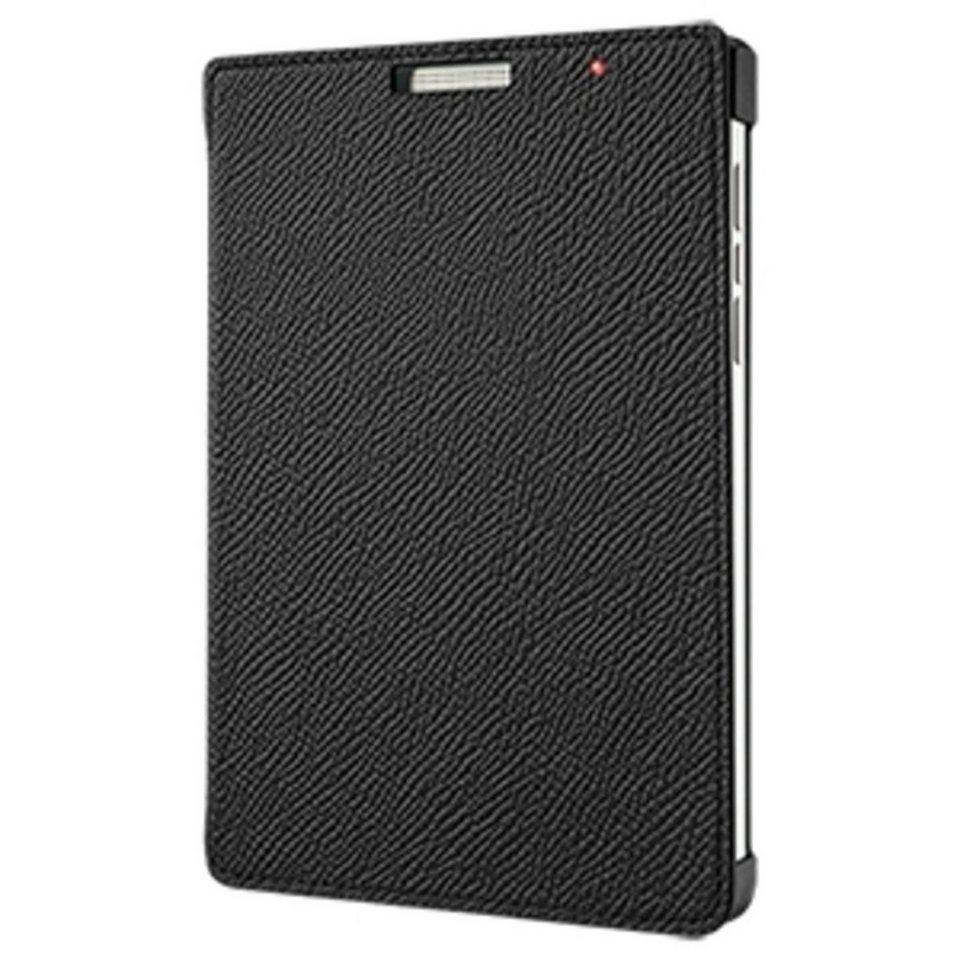 BlackBerry Handytasche »Flip Cover Leder für Passport Silver Edition« in Schwarz