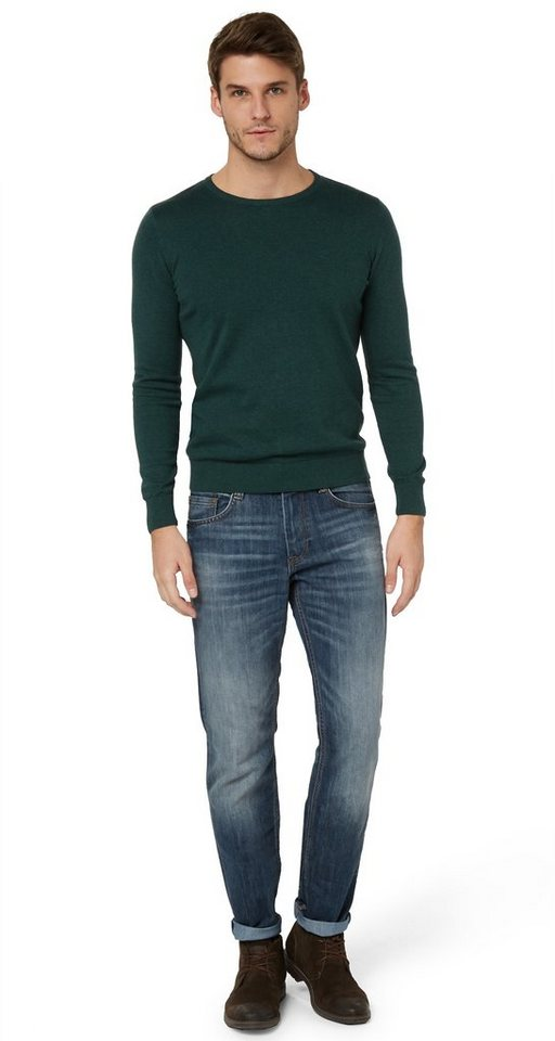 TOM TAILOR Jeans »Jeans mit Stone-Wash« in mid stone wash denim
