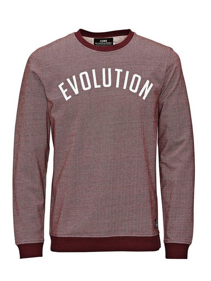 Jack & Jones Sport-inspiriertes Sweatshirt in Fig