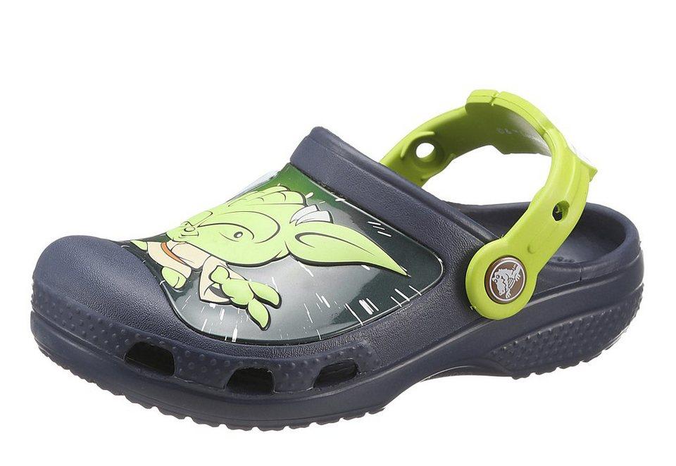 Crocs Clog »Star Wars Yoda« in navy-grün