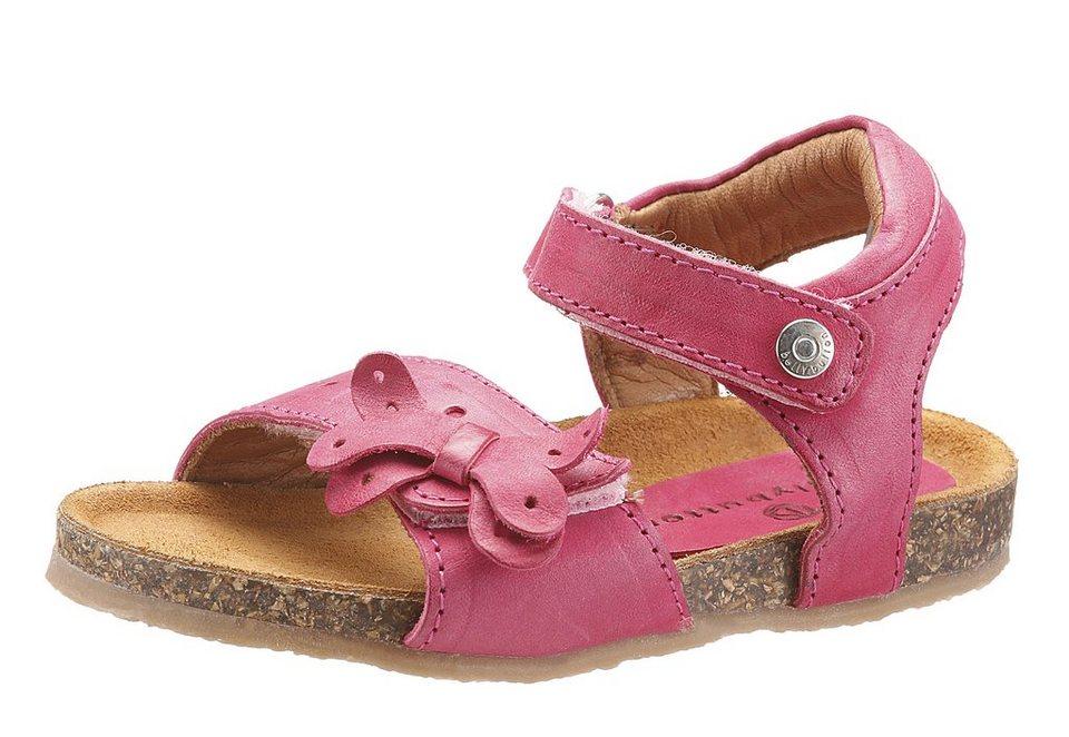 Bellybutton Sandale mit Klettverschluss in fuchsia