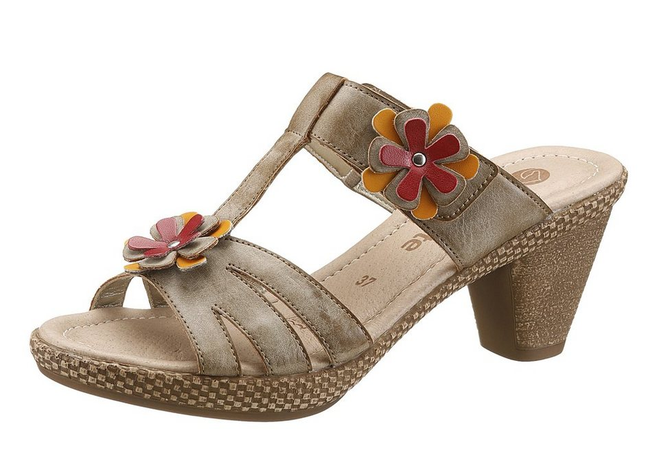 Remonte Pantolette in taupe used