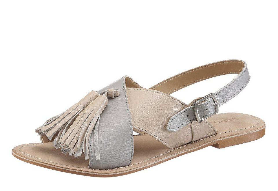 Vero Moda Sandale in rose-grau