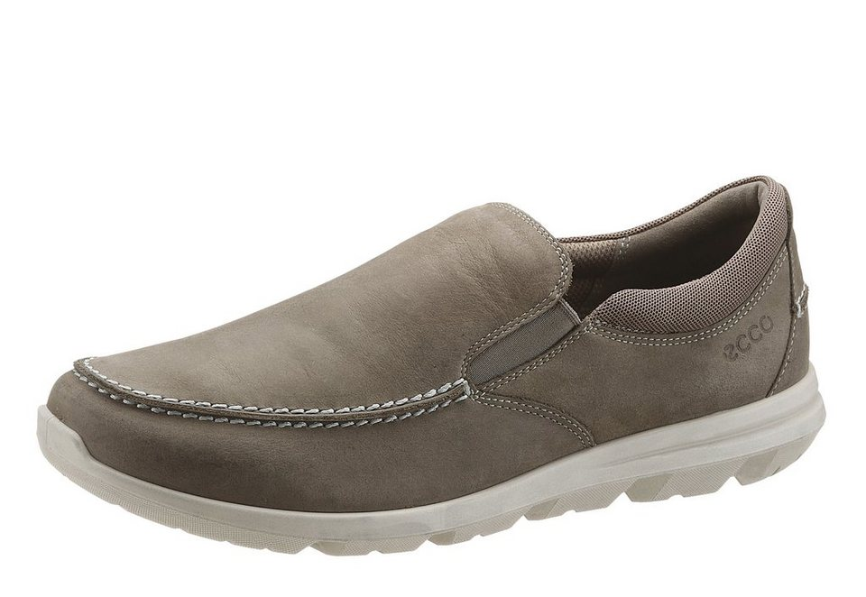Ecco Slipper im Used Look in taupe used