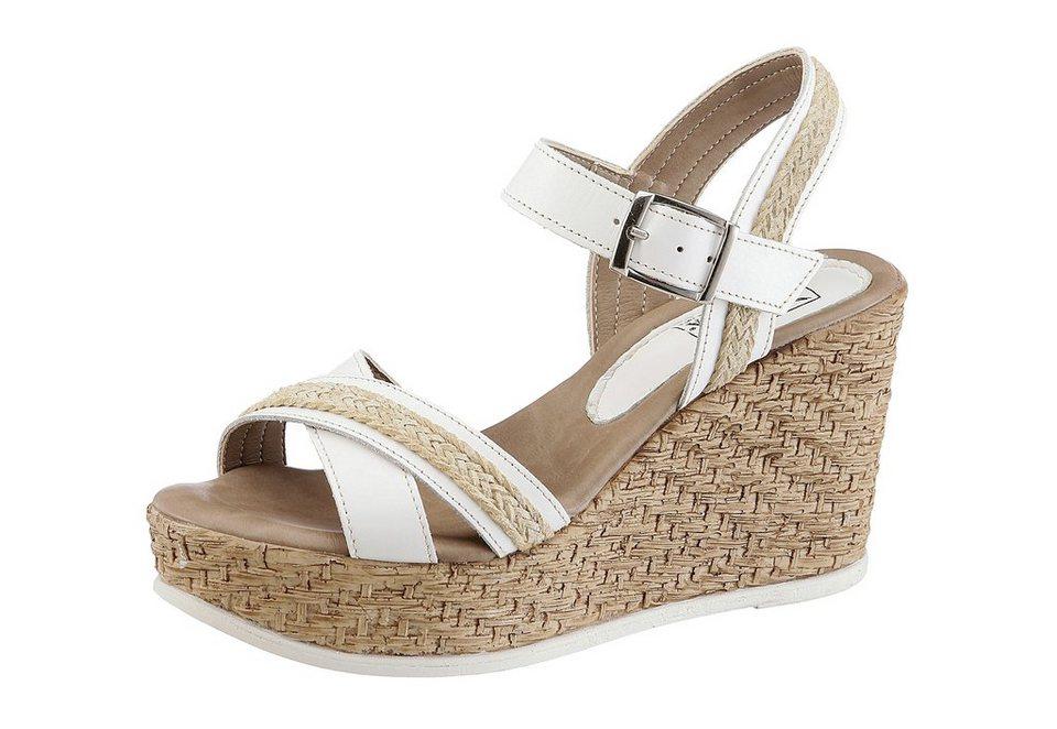 Arizona Sandalette in weiß-beige