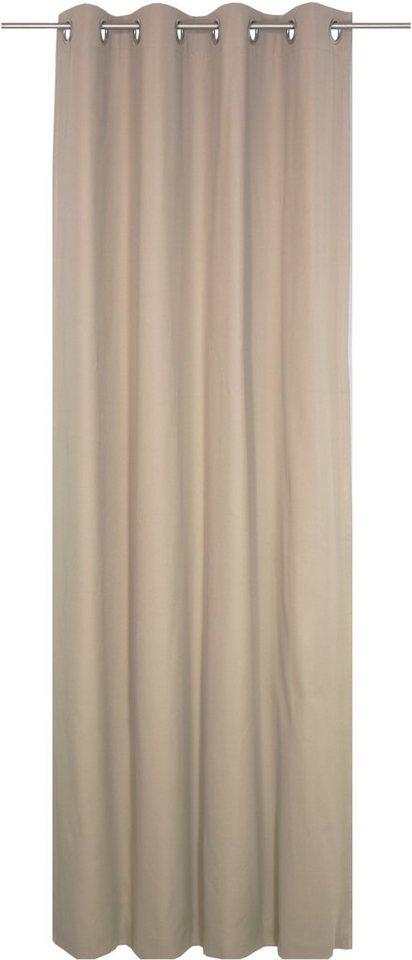 vorhang wirth wirthnatur mit sen 2 lagig 1 st ck online kaufen otto. Black Bedroom Furniture Sets. Home Design Ideas