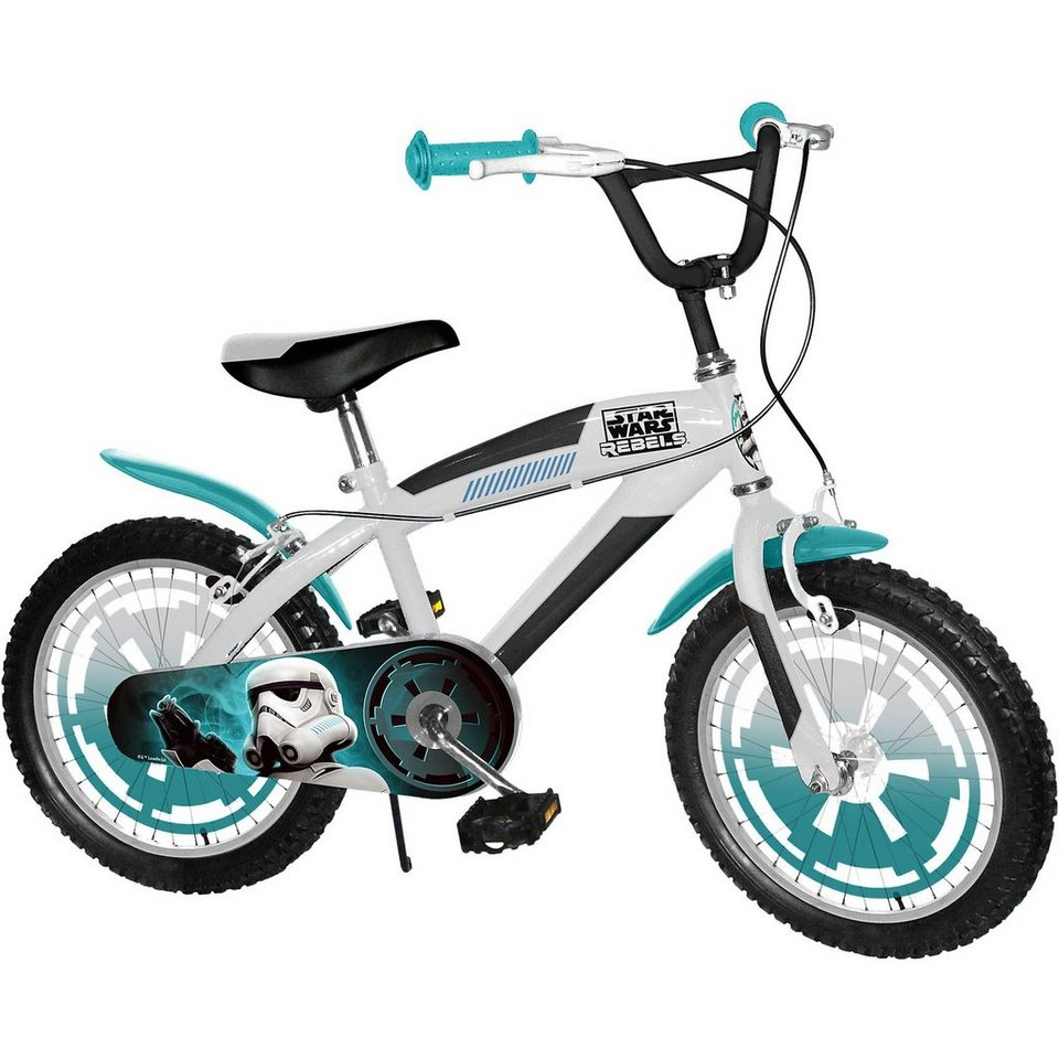 Stamp Star Wars Kinderfahrrad, 16 Zoll in blau