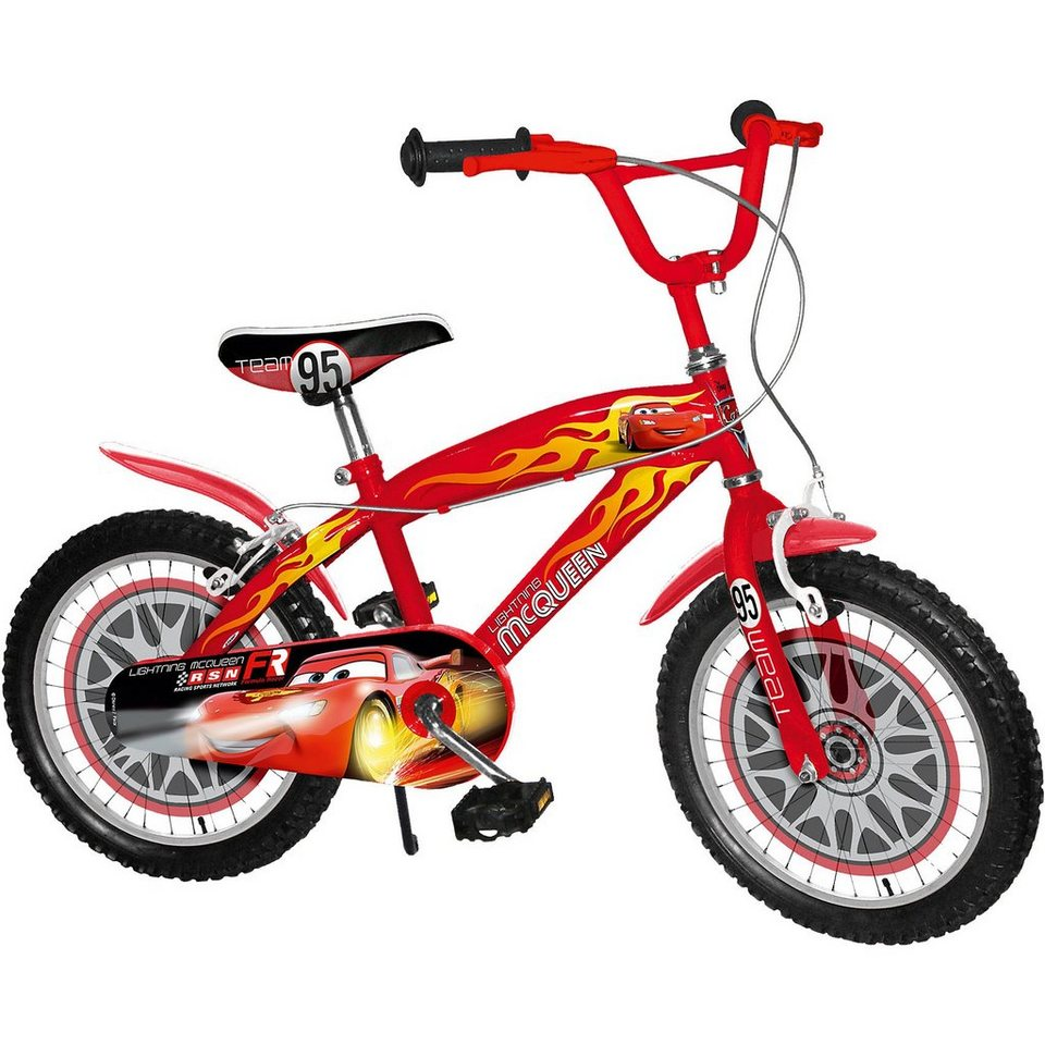 Stamp Cars Kinderfahrrad, 16 Zoll in rot