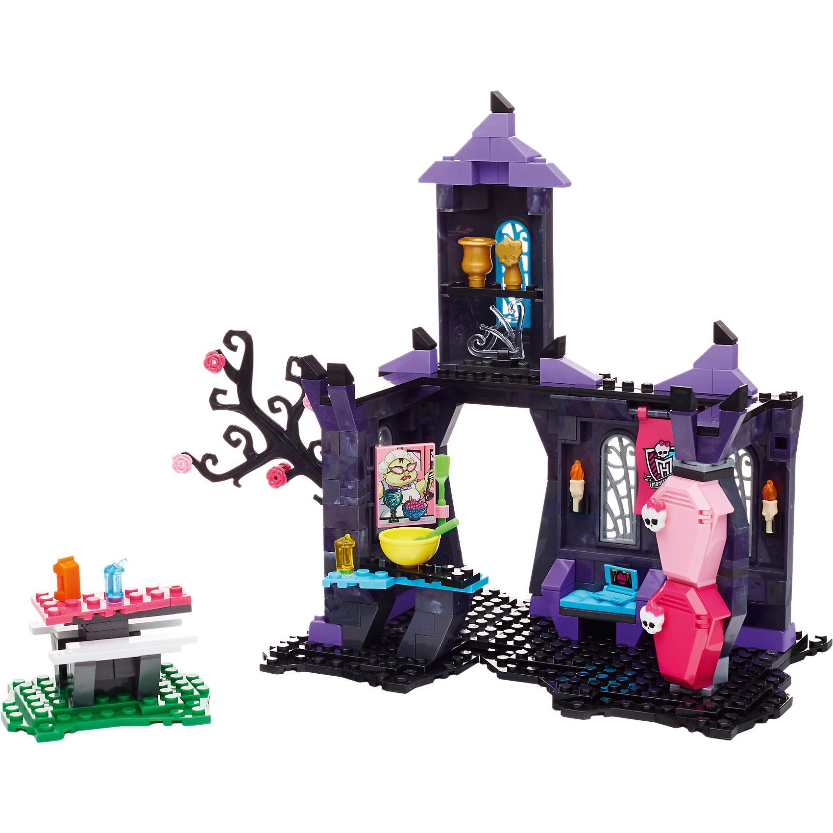 Mattel Mega Bloks Monster High Monsterschüler-Café