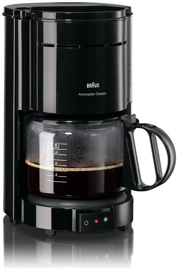Braun Kaffeemaschine »Aromaster Classic KF 47/1«, für 8-10 Tassen, Schwarz