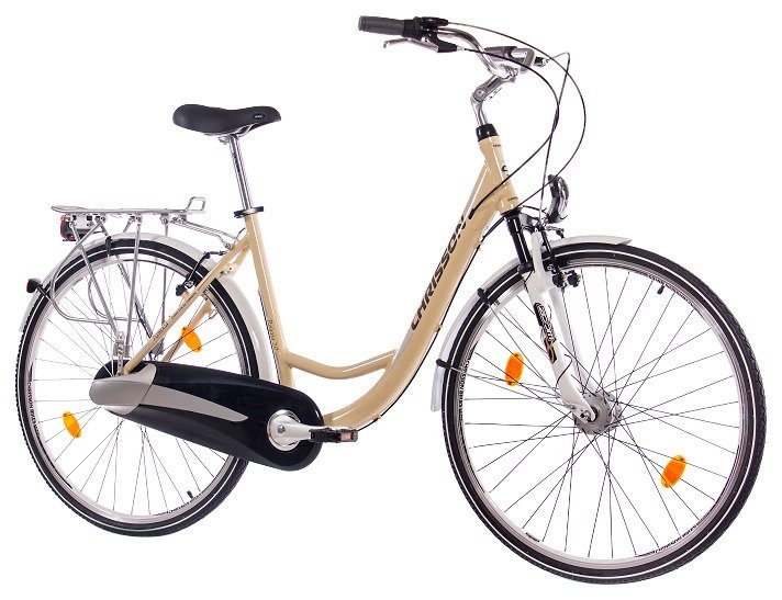 Citybike (Damen) »RELAXIA 2.0 creme, 71,12 cm (28 Zoll)« in natur