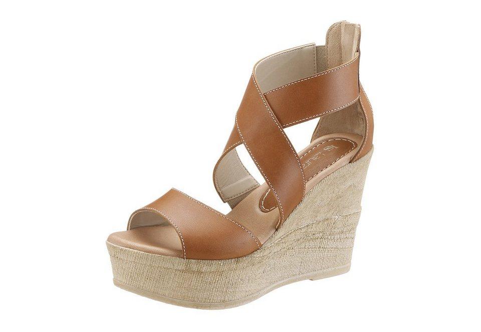 Laura Scott High Heel Sandalette in braun