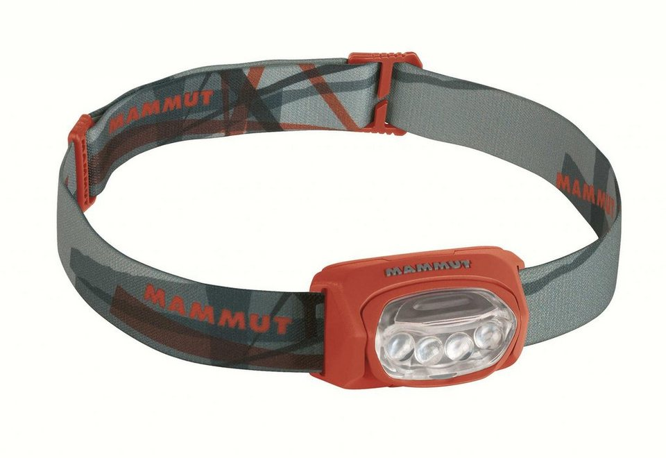 Mammut Camping-Beleuchtung »T-Trail Headlamp« in rot