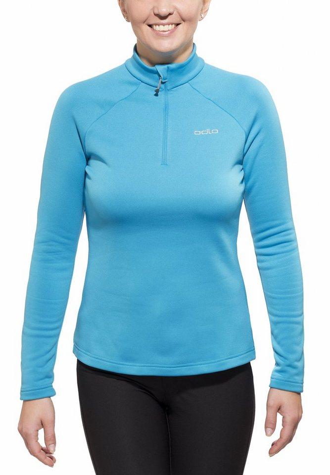 Odlo Pullover »Snowbird Midlayer 1/2 Zip Women« in blau