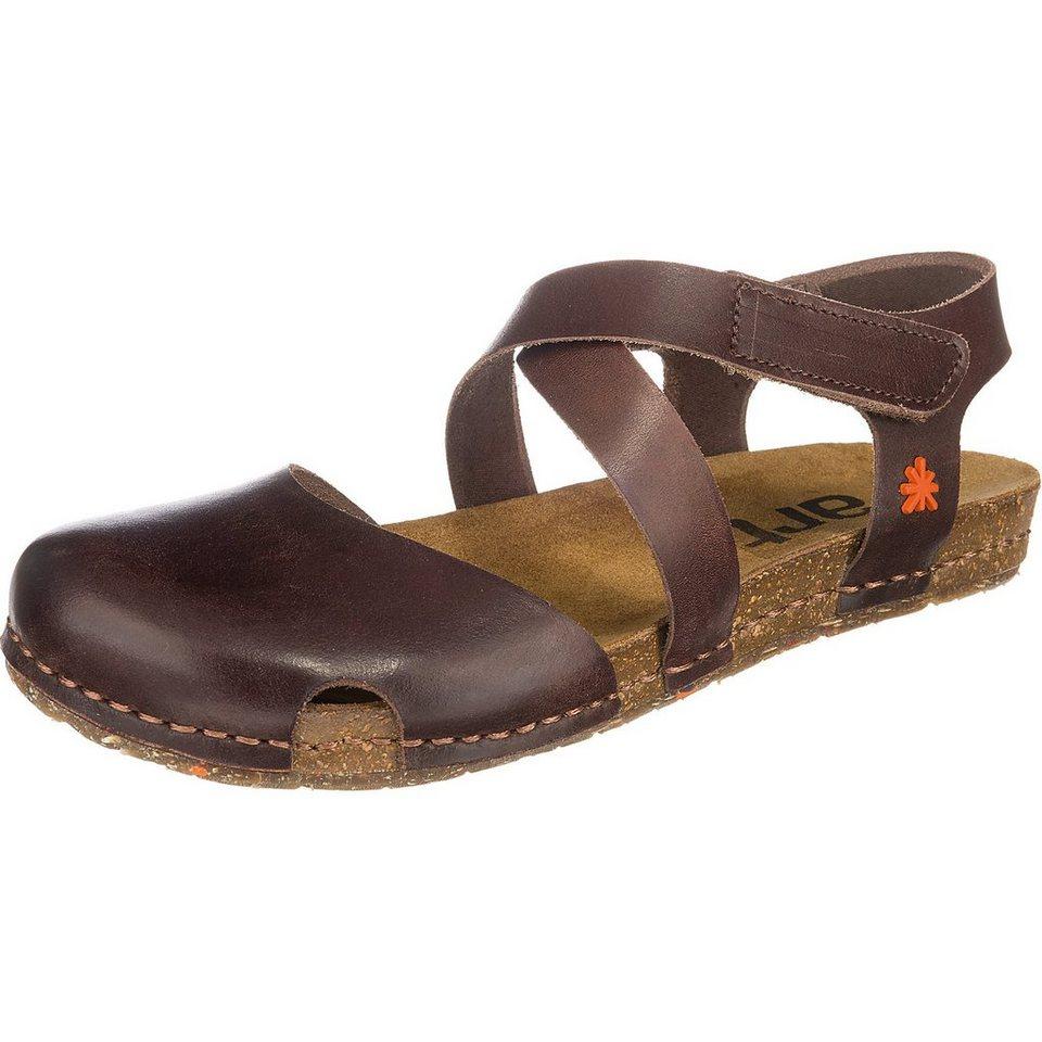 *art * Creta Sandaletten in dunkelbraun