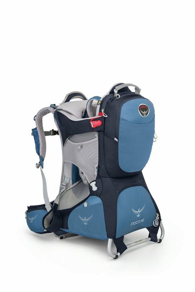 Osprey Kindertrage »Poco AG Plus child carrier« in blau