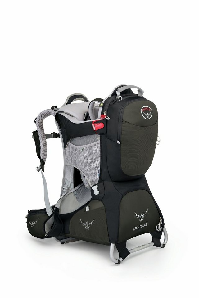 Osprey Kindertrage »Poco AG Plus child carrier« in schwarz