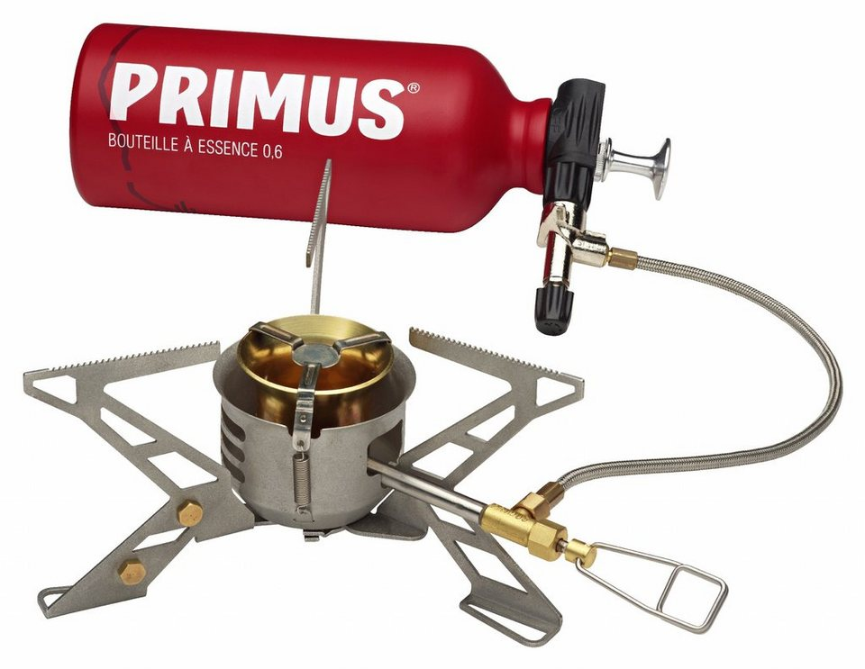 Primus Camping-Kocher »OmniFuel II Stove with fuel bottle and pouch« in grau