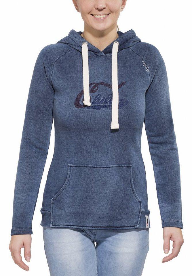 Chillaz Pullover »Jogg Hoody Women« in blau