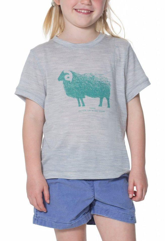 Icebreaker T-Shirt »Tech Lite SS Kids« in grau