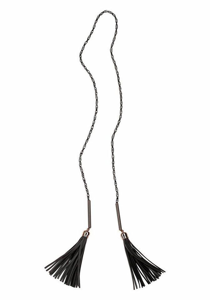 J. Jayz Kette »zum Knoten« in schwarz