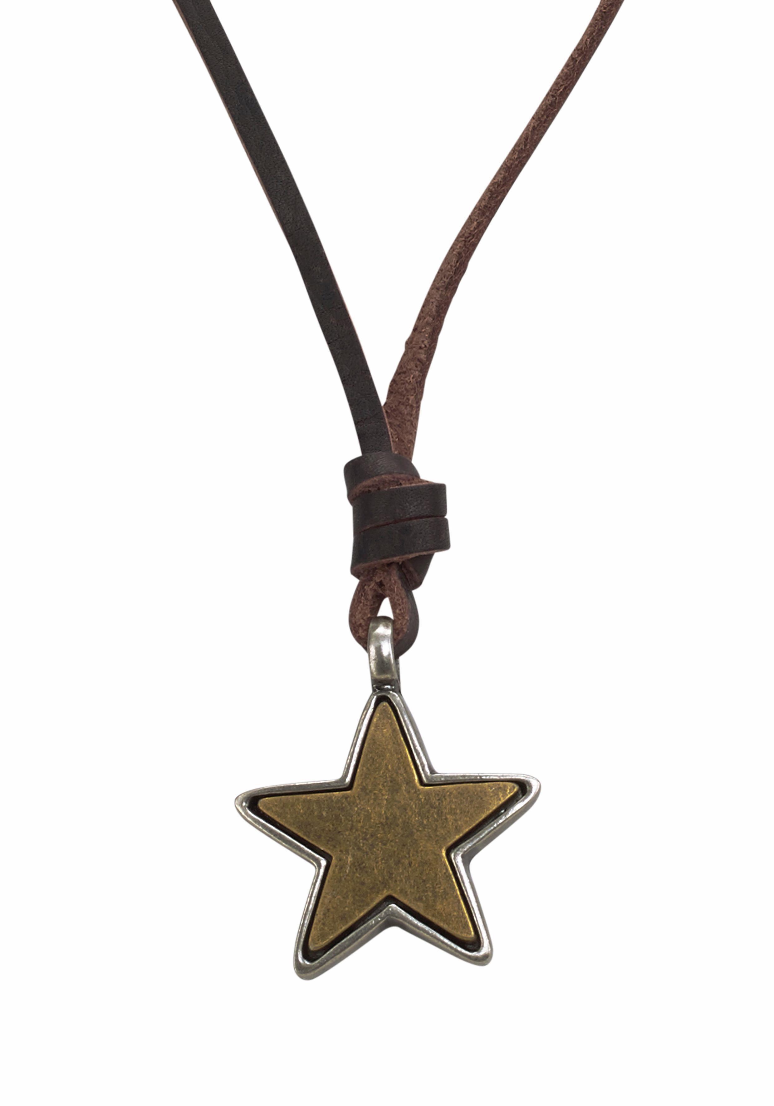 J. Jayz Kette mit Anhänger mit Stern