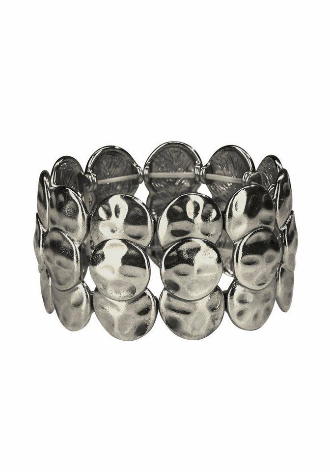 J. Jayz Armband im modischen Design in silberfarben