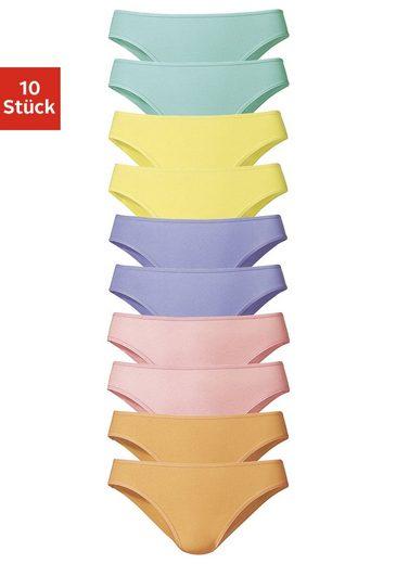 Go in Slip (10 Stück) schöner Basicartikel in tollen Farben - passend für jeden Tag