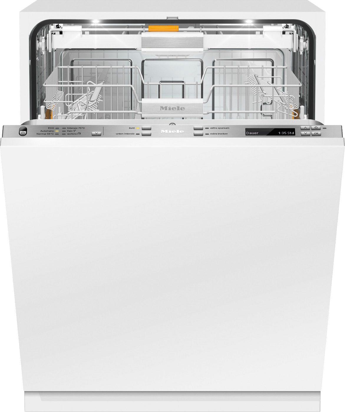Miele vollintegrierbarer Einbau-Geschirrspüler G 6577 SCVi XXL, A+++, 9,7 Liter, 14 Maßgedecke