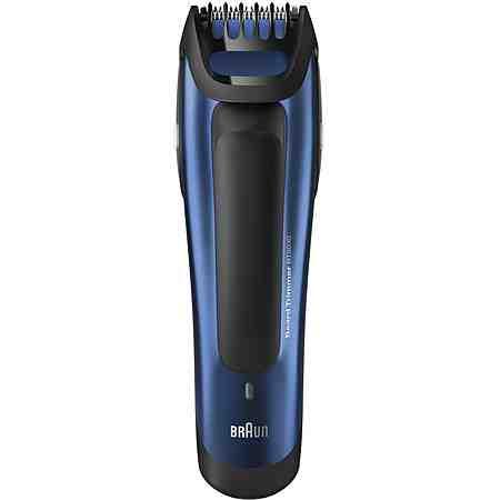 Bartschneider kürzen den Bart in der gewünschten Länge.