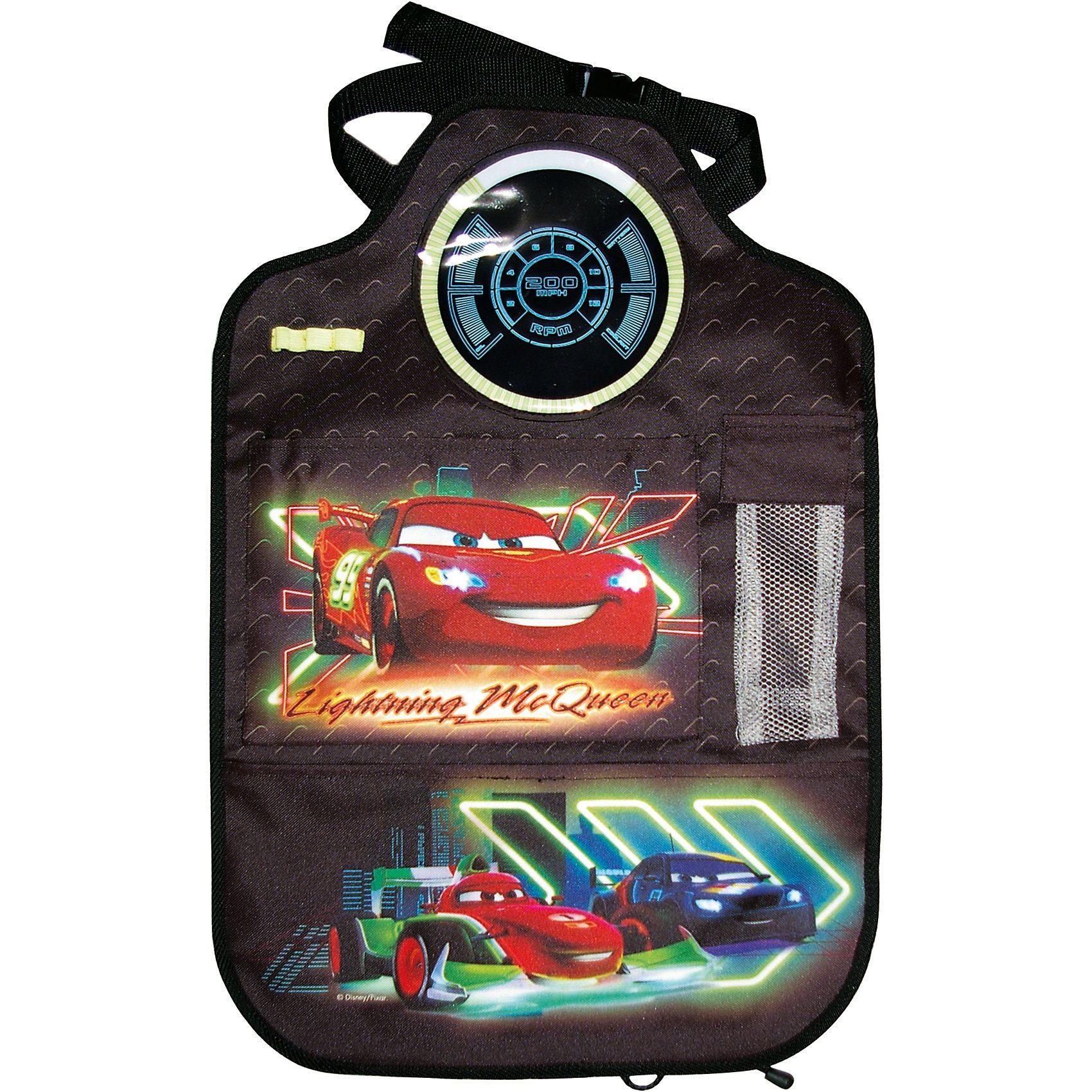 Kaufmann Auto-Rückenlehnentasche, Cars Neon