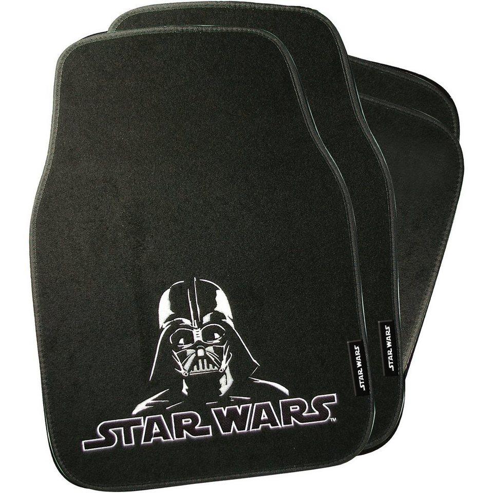 Kaufmann Auto-Fußmatten, Star Wars, 4-tlg in mehrfarbig