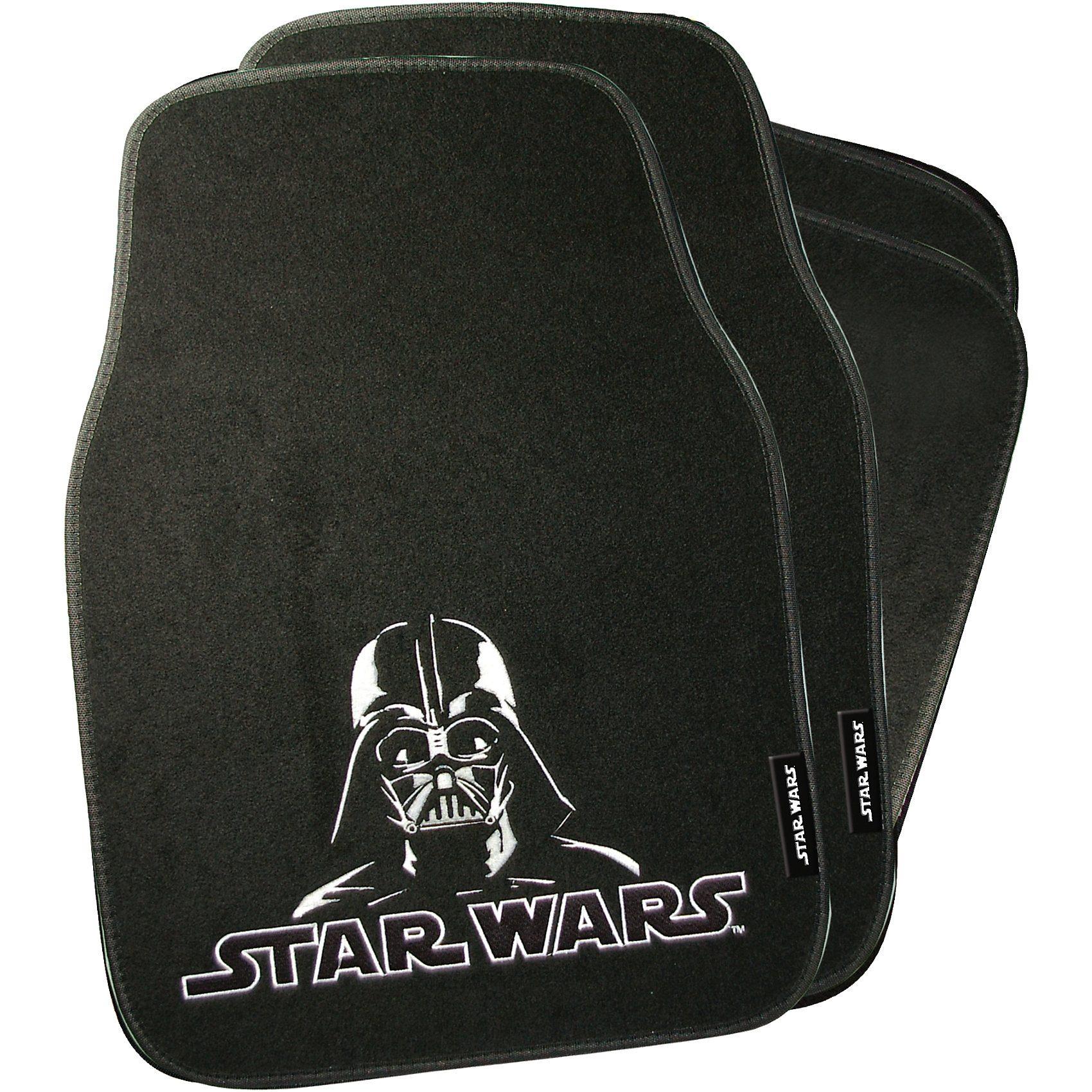 Kaufmann Auto-Fußmatten, Star Wars, 4-tlg