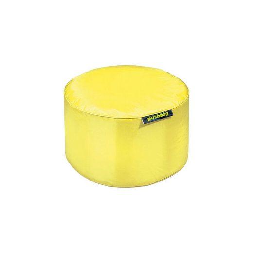 Sitzsack Drum, Oxford, gelb
