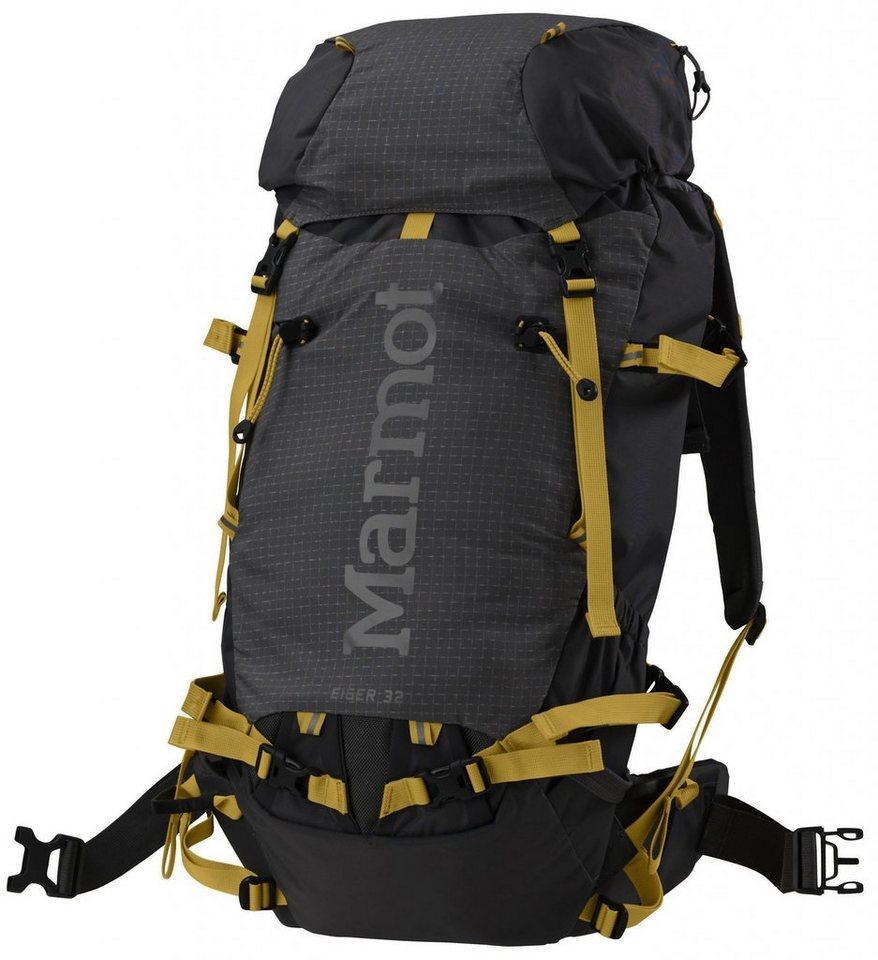 Marmot Sport- und Freizeittasche »Eiger 32 Backpack« in schwarz