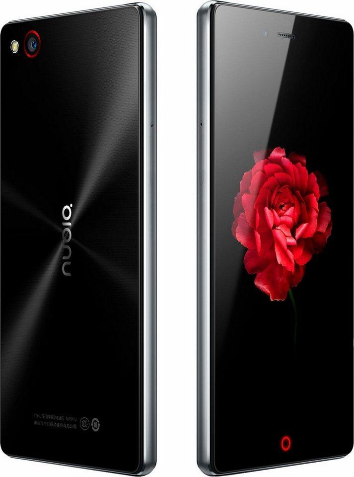 ZTE Nubia Z9 Mini Smartphone, 12,7 cm (5 Zoll) Display, LTE (4G), Android 5.0, 13,0 Megapixel in schwarz