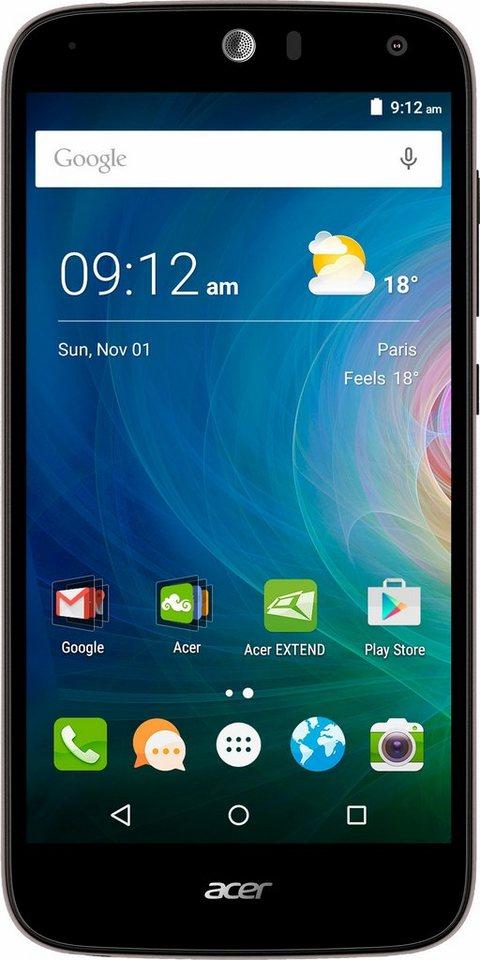 Acer Liquid Z630S Smartphone, 14 cm (5,5 Zoll) Display, LTE (4G), Android 5.1 Lollipop in schwarz/silberfarben