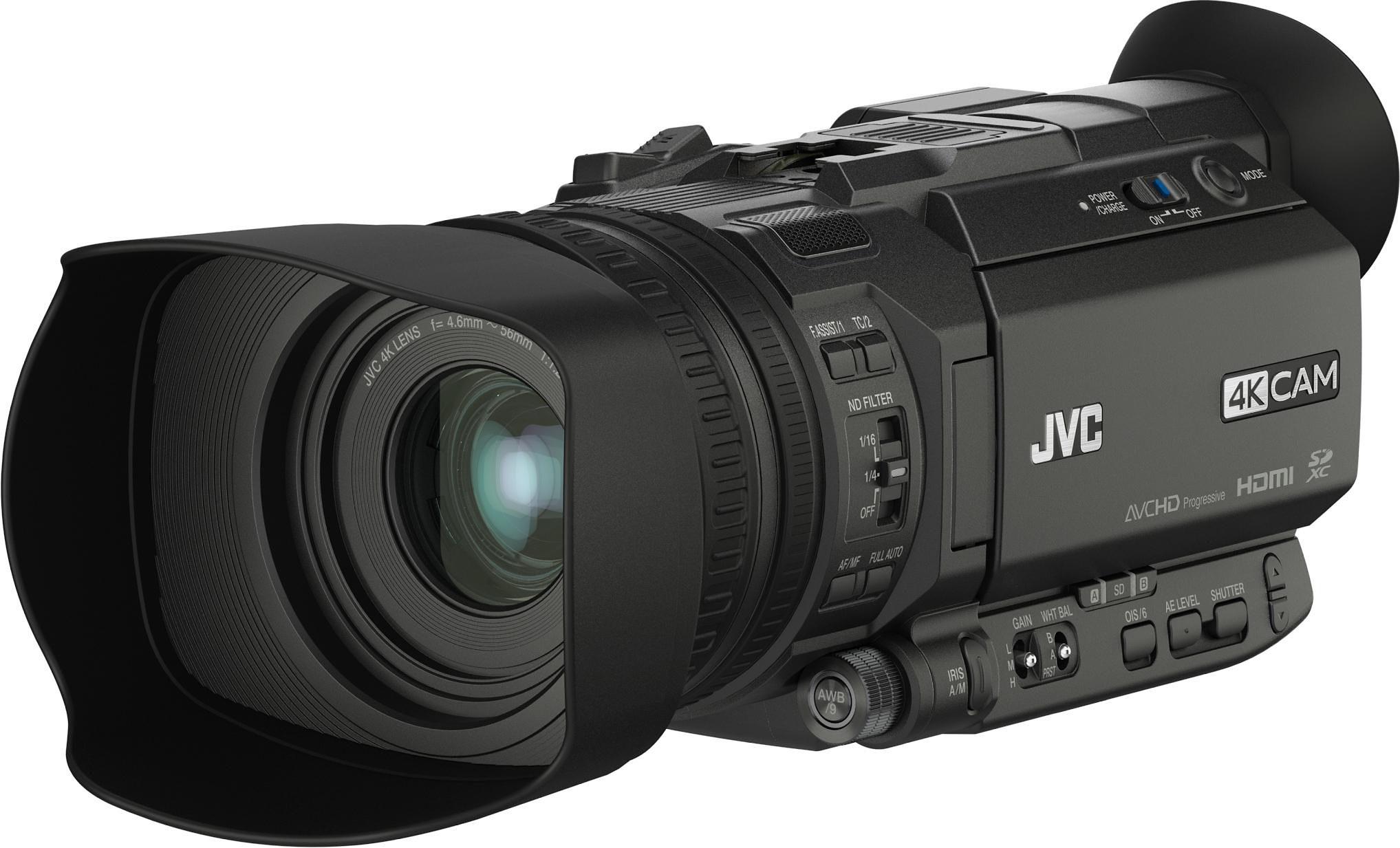 JVC GY-HM170E inkl. Haltegriff (KA-HU1) 4K (Ultra-HD) Camcorder
