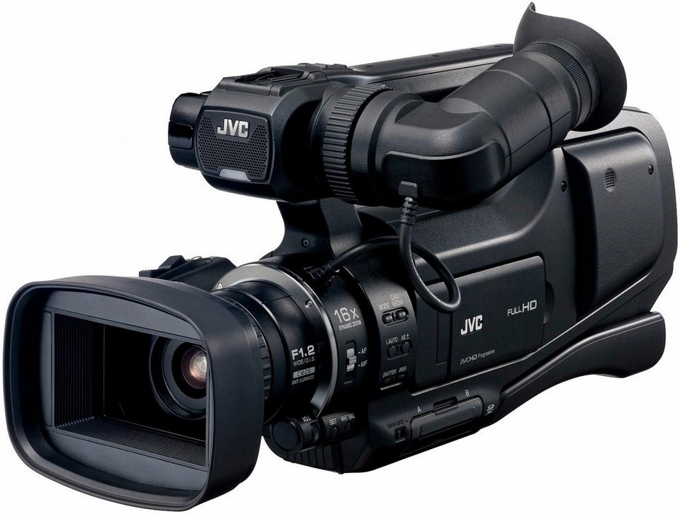 JVC GY-HM70E 1080p (Full HD) Camcorder in schwarz