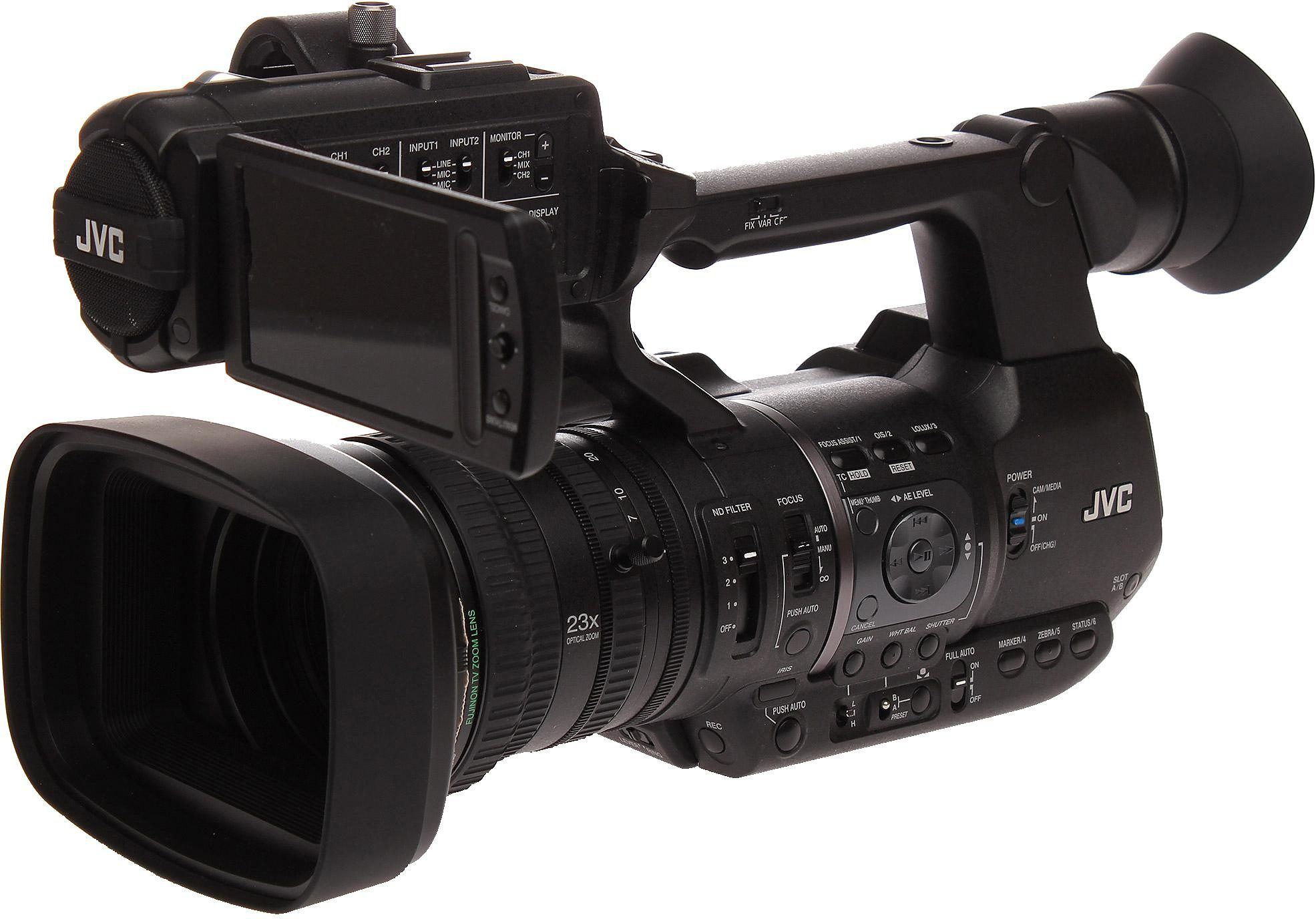 JVC GY-HM600 1080p (Full HD) Camcorder, GPS