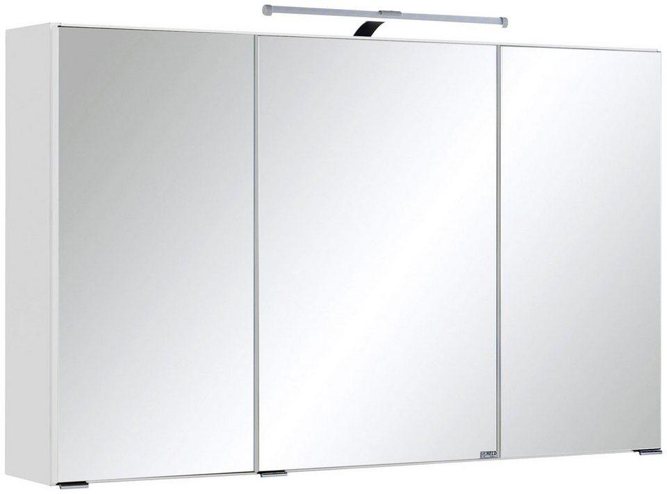 Spiegelschrank »Texas« Breite 90 cm, mit LED-Beleuchtung in weiß