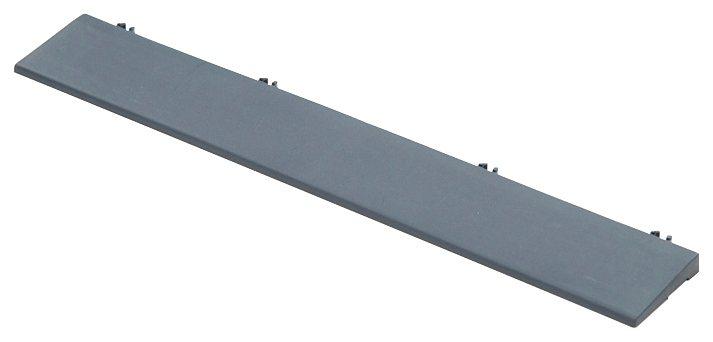 Kantenleisten »für Kunststofffliesen in Anthrazit« in grau