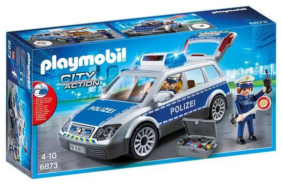 Playmobil® Konstruktionsspielsteine »Polizei-Einsatzwagen (6873), City Action«