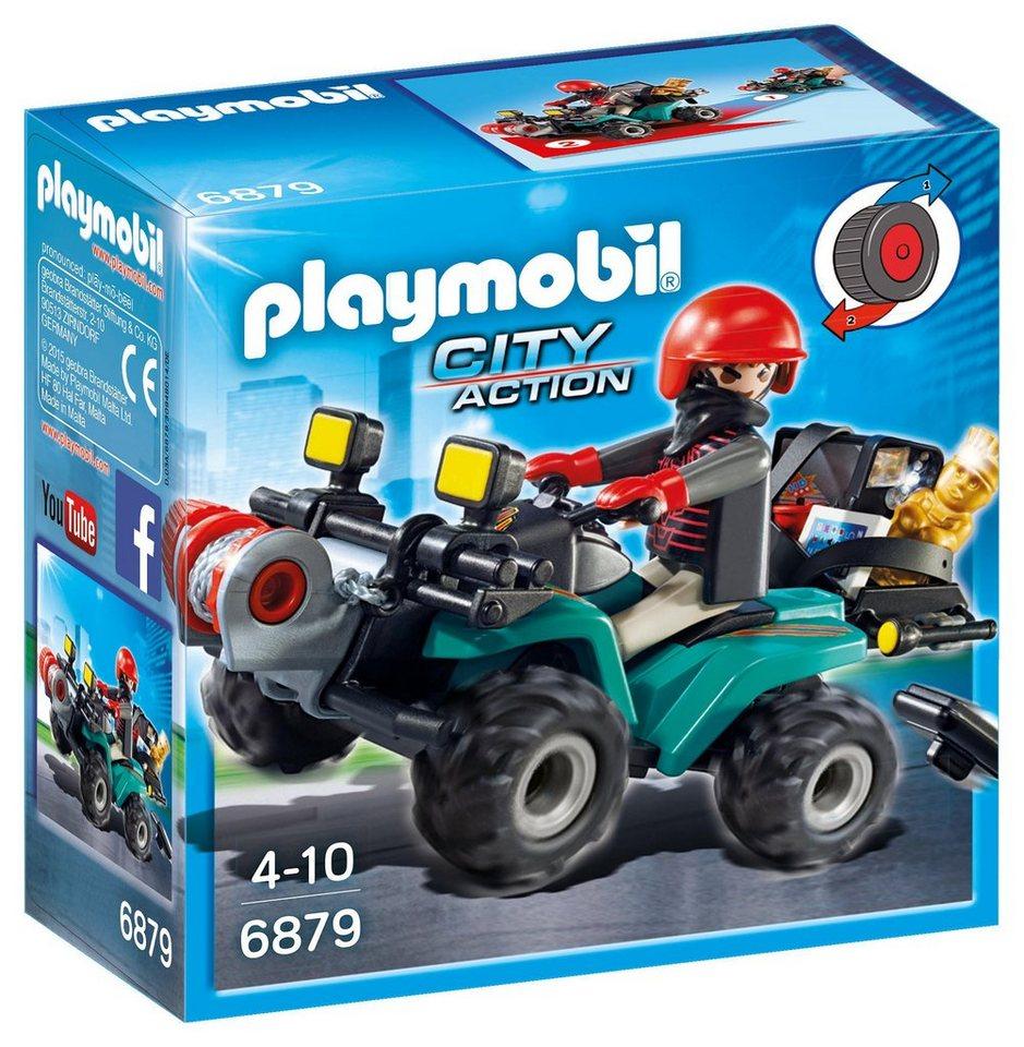 Playmobil® Ganoven-Quad mit Seilwinde (6879), »City Action«
