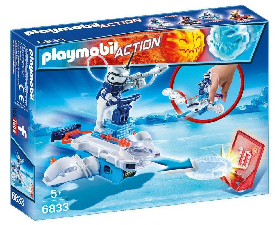 Playmobil® Icebot mit Disc-Shooter (6833), Action