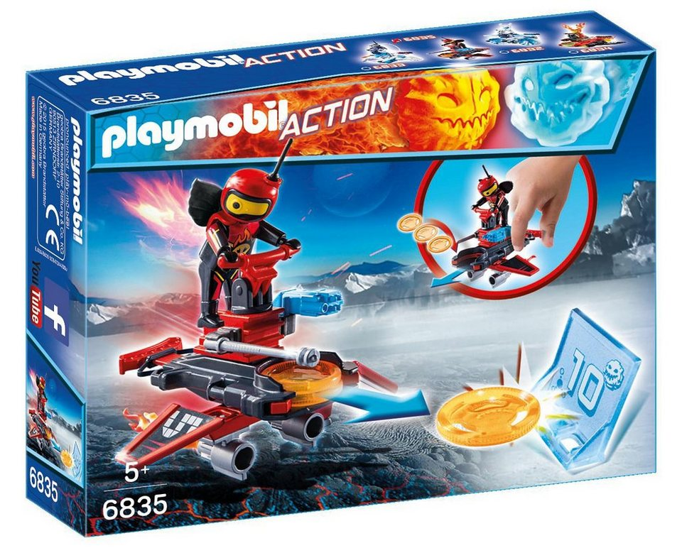 Playmobil® Firebot mit Disc-Shooter (6835), Action