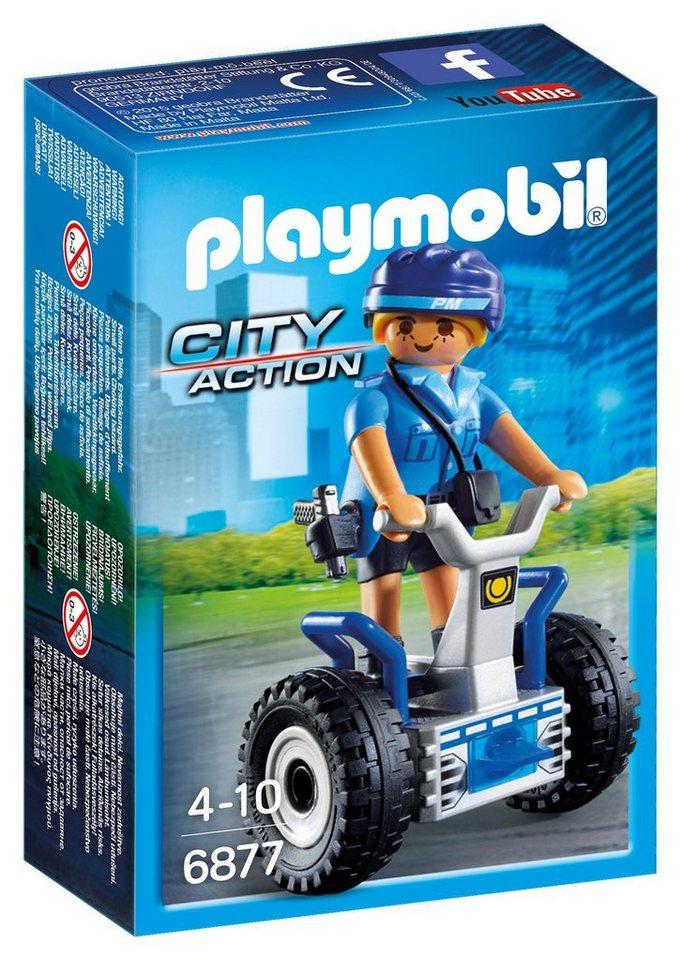 Playmobil® Polizistin mit Balance-Racer (6877), »City Action«