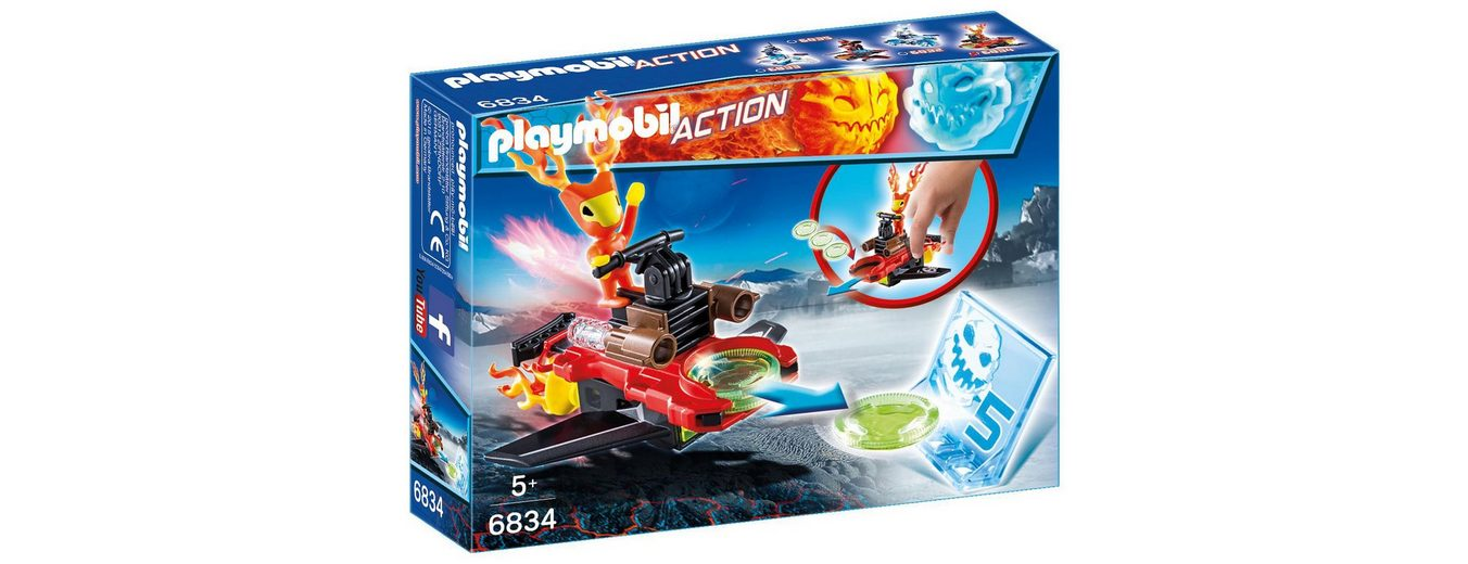 Playmobil® Sparky mit Disc-Shooter (6834), Action