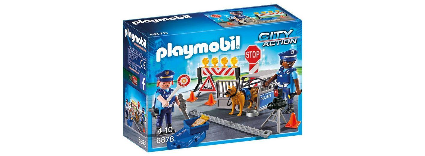 Playmobil® Polizei-Straßensperre (6878), »City Action«