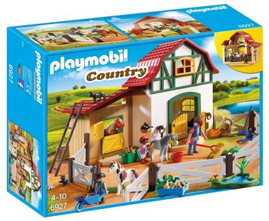 Playmobil® Konstruktionsspielsteine »Ponyhof (6927), Country«